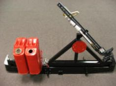K5 Rear Bumper with Tire & Jerry Can Holder