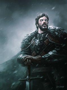 Game of Thrones Challenge 01 (2Minds Brazil Group on Facebook), Renato Giacomini on ArtStation at https://www.artstation.com/artwork/B2Xxr
