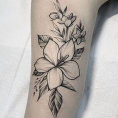 Narcissus Flower Tattoos, Plumeria Flower Tattoos, Daffodil Tattoo, Hibiscus Tattoo, Mutterschaft Tattoos, Line Tattoos, Forearm Tattoos, Sleeve Tattoos, Floral Tattoo Design