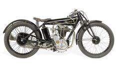 1925 Sunbeam Model 10 Sprint 500cc Motorcycle. Sunbeam Motorcycles (1912-1956). Wolverhampton, England.