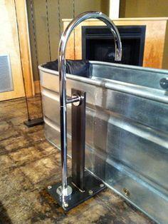 Horse Trough Bathtub Design Ideas, Pictures, Remodel and Decor