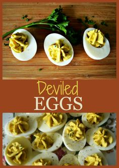Delicious Deviled Eggs honeysuckleafternoons.com