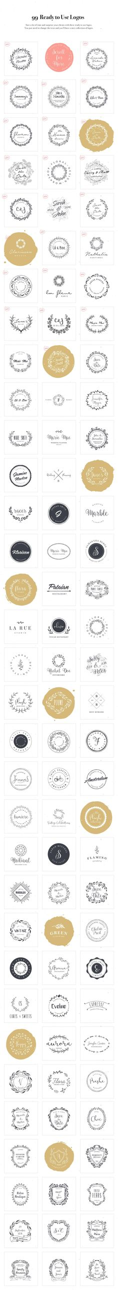 Logo Design Kit • Available here → https://creativemarket.com/VladCristea/573841-Logo-Design-Kit?u=pxcr