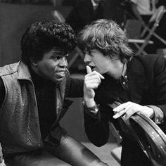 #Sixties | James Brown and Mick Jagger