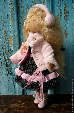 Коллекционные куклы ручной работы. Ярмарка Мастеров - ручная работа Коллекционная кукла Карина. Handmade.