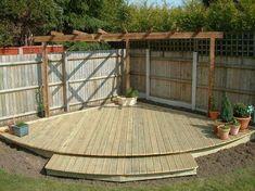 Pergola Ideas For Patio White Pergola, Pergola Swing, Backyard Patio Designs, Backyard Pergola, Pergola Shade, Pergola Designs, Pergola Plans, Backyard Landscaping, Landscaping Ideas