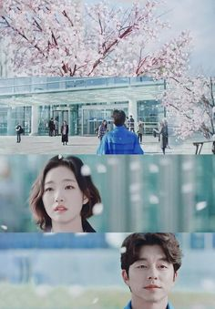 Goblin : cherry blossoms on winter when he's in love ♡♡ Live Action, Goblin Korean Drama, Goblin Gong Yoo, Goblin Kdrama, Korean Actors, Korean Dramas, Goong, Weightlifting Fairy Kim Bok Joo, Yook Sungjae