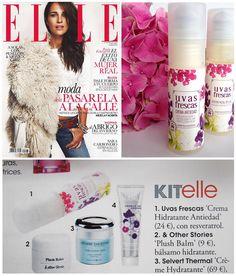 La Revista ELLE hace un huequito a Uvas Frescas en su número de noviembre!! Qué bien empezar así el fin de semana!! =)