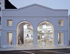 Apple restored a historic building for its Greenwich Ave store. It's become the place to  hang, work, upgrade your technology.