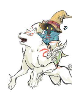 Vivi Okami Final Fantasy