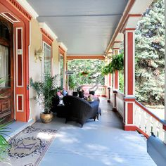 My Cranford NJ listing has an amazing porch! This house was built in 1870 for the town's first mayor!