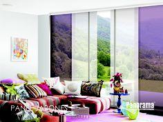 el panel japons de panorama est diseado para cubrir grandes ventanas en formato piso a with panel japones moderno