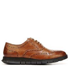 Deer Stags Men's Benton Medium/Wide Wing Tip Oxford Shoes (Tan Leather)