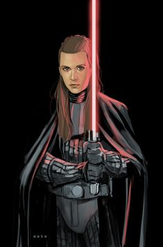 LEIA SKYWALKER - DARK LORD OF THE SITH THIS.
