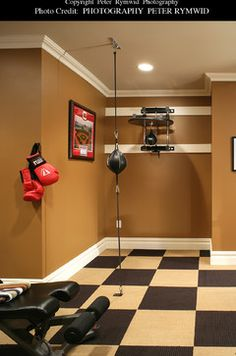 Basement Exercise Rooms Design Pictures Remodel Decor And Ideas  Page 2