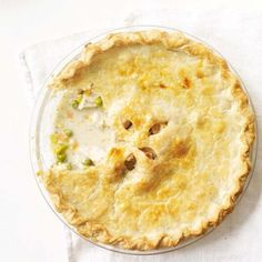 Chicken Potpie:  With its flaky crust and creamy filling, it's easy to see why this casserole has been a family favorite for years. Prep: 20 mins Cook: 22 mins Bake: 35 mins to 40 mins at 350°F