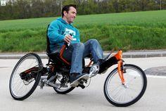 Longabike tilting Recumbant Trike - Electric Bike Hub New Zealand