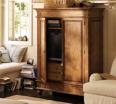 Belvedere Armoire | Pottery Barn  <3 <3 <3