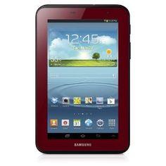 5cff132e6e4 Samsung Galaxy Tab 2 Garnet Red Edition Bundle with Case (7-Inch