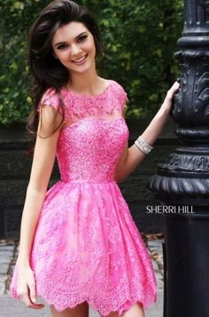 Kendall & Kylie Jenner Model Sherri Hill Spring 2013 Prom Dresses-11 - Latest Fashion, Ladies Fashion Mens Fashion and Style Guide