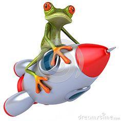Żaba i rakieta