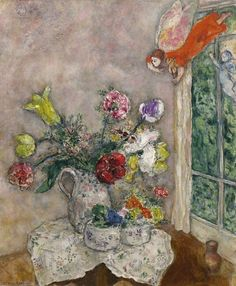 Sixteen Miles of String | Marc Chagall (Russian/French, 1887-1985), Fleurs...