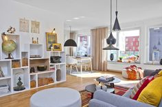 Sweden Apartment by Mood House - DECOmyplace