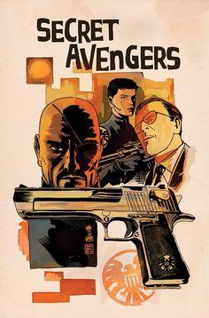 Secret Avengers - Francesco Francavilla