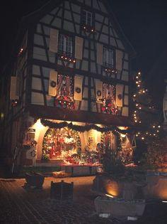 Lumières de Noël en Alsace, à Kaysersberg - Gite en Alsace