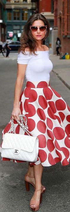 Very nice skirt.