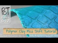 ▶ Free Polymer Clay Mica Shift Mini-Tutorial (With A Twist) - YouTube