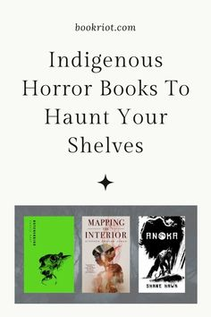 Great scares from Indigenous authors.