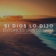 Si Dios ha declarado una palabra sobre tu vida tendrá cumplimiento por encima de cualquier muro que quiera levantarse. Aunque parezca imposible, no olvides que Él es el Dios que todo lo puede. #VivoporJesucristo #JesusSalva #consejosbiblicos