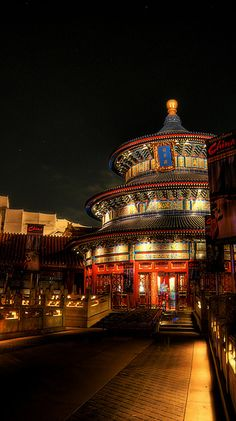 China at Night by janoimagine, via Flickr