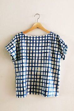 enJOY it by Elise Blaha Cripe: one pattern (100 Acts of Sewing Shirt 1), five ways.