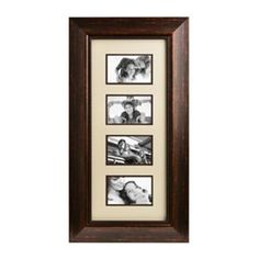 Bronze and Cream Lineage 4x6 Collage Frame