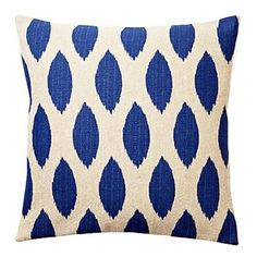 I pinned this Olivia Pillow in Blue from the Kimoley event at Joss and Main!