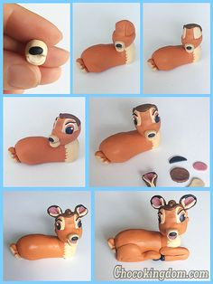 Disney Bambi Cake Topper Tutorial Part 2