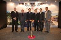 The three tourism departments co-organized joint promotion activities in India