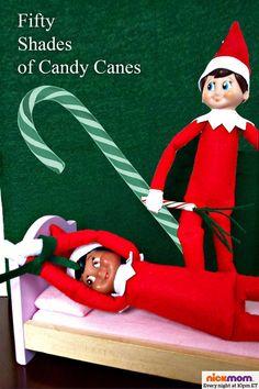 """""""Elf on a shelf"""" lol"""