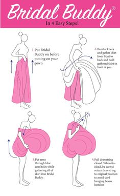 You won't need bridesmaids helping you hike up your dress in the bathroom stall- you've got Bridal Buddy! The super convenient gown gathering undergarment invented for women wearing gowns! Available in ALL sizes! #genius #bridal #wedding #weddingideas #sharktank Wedding Pins, Wedding Advice, Diy Wedding, Wedding Stuff, Bridal Outfits, Bridal Dresses, Budget Wedding, Wedding Planning