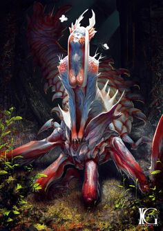 As incríveis ilustrações de ficção científica e fantasia para games de Kevin Glint