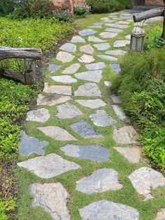 Stepping Stones Walkway Ideas