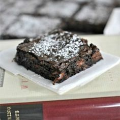 Perfect Dark Chocolate Brownie