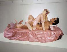 Jeff Koons - Artwork: Ilona On Top (Rosa): plastic.