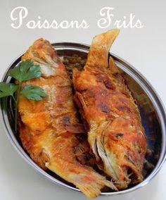 Poissons frits à l'Antillaise Plus