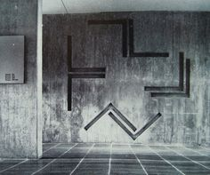 Armin Hofmann's graphics and concrete works at Basel School of Design