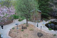 Lavender Cottage: Going Grass-less