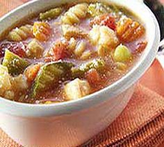 WW Easy Chicken Minestrone Soup-This is a quick and easy Weight Watchers 3 PointsPlus+ recipe.
