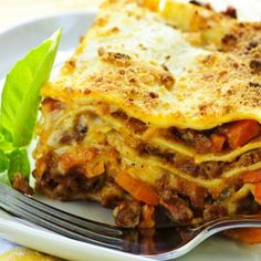 Hearty Four-Layer Meat Lasagna